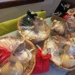 Cesti regalo con caciocavallo di Castelfranco e altri formaggi tipici